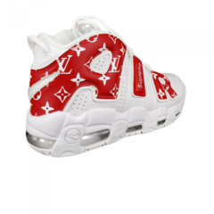 Мужские Nike Air More Uptempo x Supreme White/Red