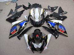 Комплект пластика для мотоцикла Suzuki GSX-R1000 09-15 Черно-Синий