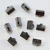 Концевик для лент 10 мм (цвет - черный никель), 10 штук