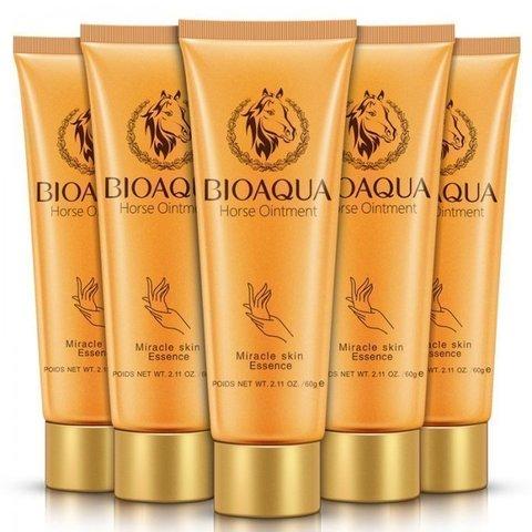 Bioaqua Крем для рук с лошадиным жиром Horse Ointment Hand Cream, 60 г