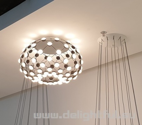 Mesh by Lucheplan ceiling replica chandelier