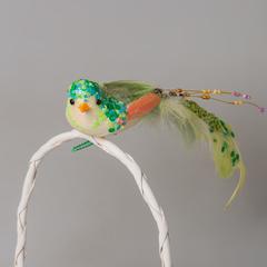 Птица SL2Y 0045 зеленая
