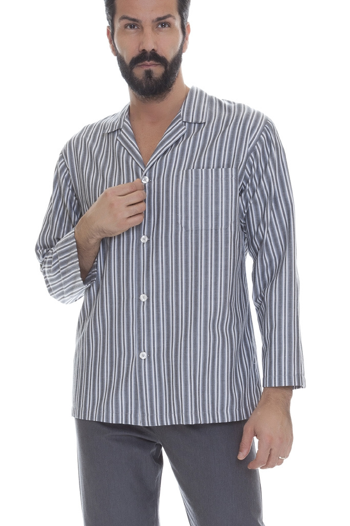 Мужская пижама в полоску B&B (Домашние костюмы и пижамы)