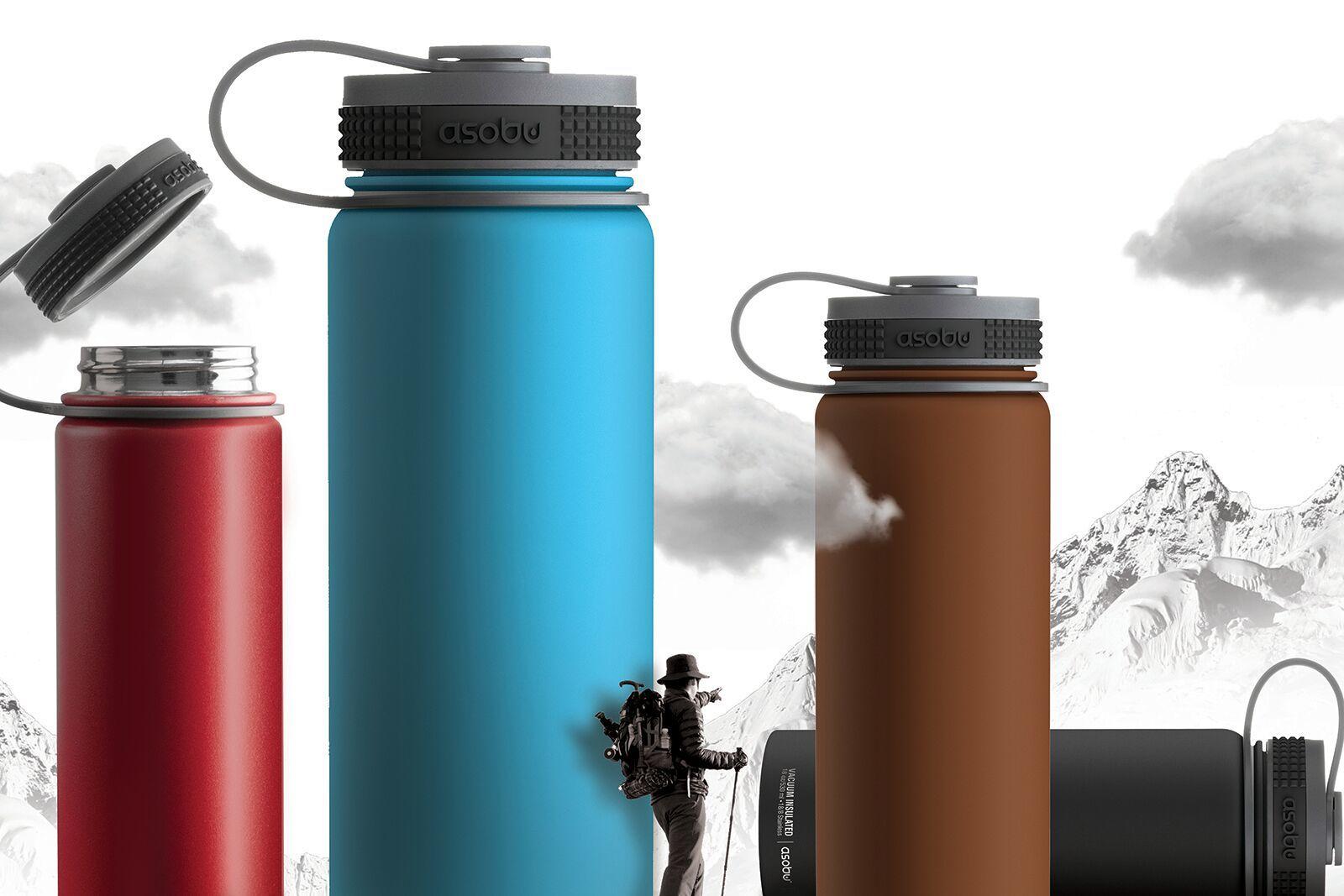 Термос Asobu Alpine flask (0,53 литра), синий