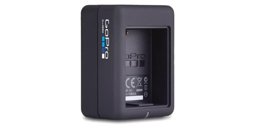Зарядное устройство для 2-х аккумуляторных батарей Dual Battery Charger (AHBBP-301) без батарейки