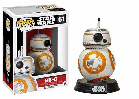 Фигурка Funko POP! Bobble: Star Wars: E7 TFA: BB-8 6218