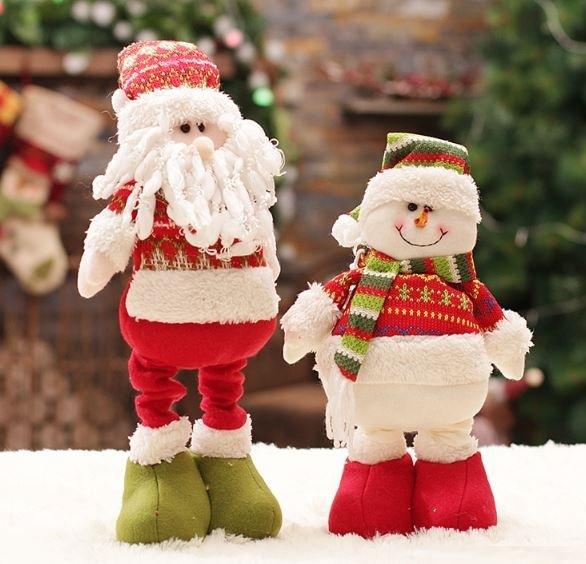Новогодняя игрушка Дед Мороз Снеговик