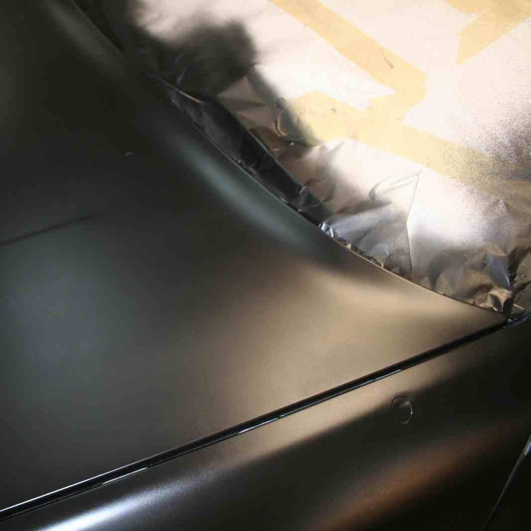 Покраска Nissan Patrol Y61 база лак фото-1
