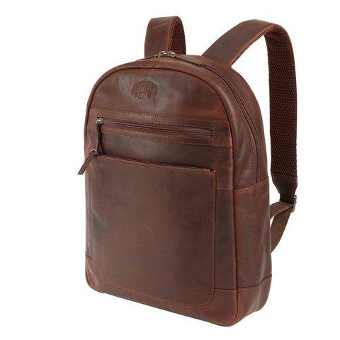 Кожаный мужской рюкзак DIGGER «Sade» KLONDIKE KD1054-03