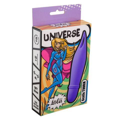 Фиолетовый мини-вибратор Universe Gentle Thorn