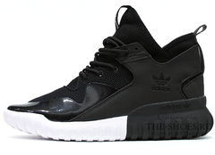 Кроссовки Мужские Adidas Tubular Runner Hi-Top Premium Black White