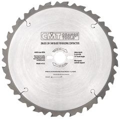 Пила строительная для древесины с гвоздями 315 мм. CMT серия 286