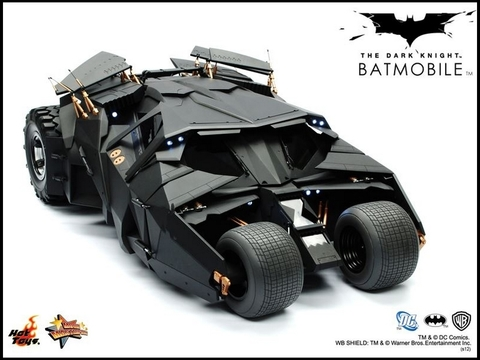 The Dark Knight - Batmobile Collectible