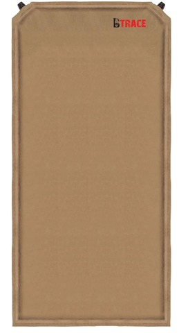 Ковер самонадувающийся BTrace Warm Pad Double185х130х5 см, Коричневый