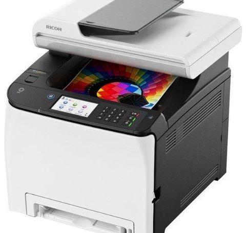 Цветное МФУ Ricoh SP C260SFNw (408142)