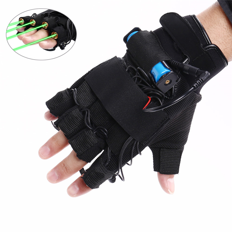 Green Laser Gloves, foto