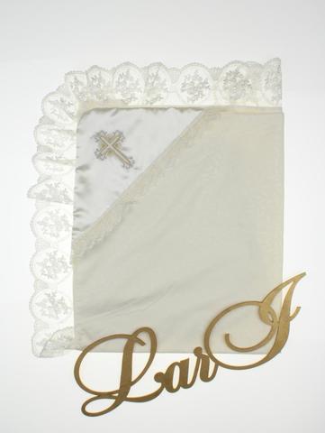 Пеленка крестильная Нежность (кремовый)