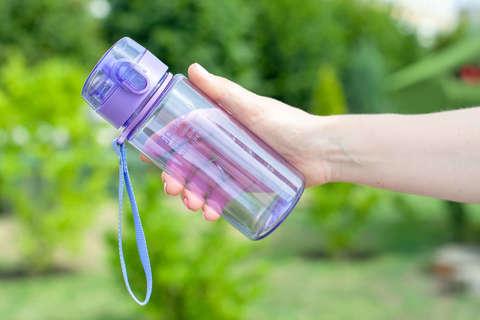 Бутылка для воды Powcan 400 мл - Purple глянцевая