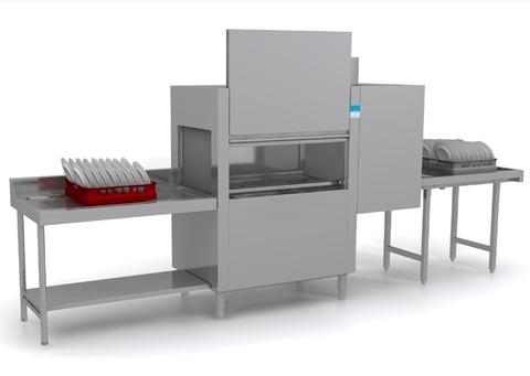 фото 1 Конвейерная посудомоечная машина Elettrobar Niagara 411.1 T101EBSWAY (левая) на profcook.ru