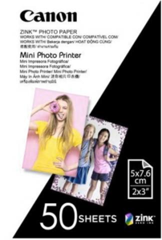 Фотобумага (кассета) CANON ZP-2030 Zink Paper (50 листов) для Canon Zoemini