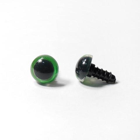 Глазки пластиковые с фиксатором 14мм