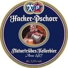 Пиво Hacker-Pschorr Munchner Kellerbier