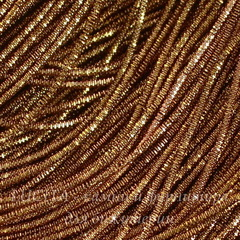 Канитель для вышивания Трунцал 4-гранный 1,5 мм (цвет - янтарно-рыжий)