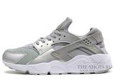 Кроссовки Мужские Nike Air Huarache ES Silver White