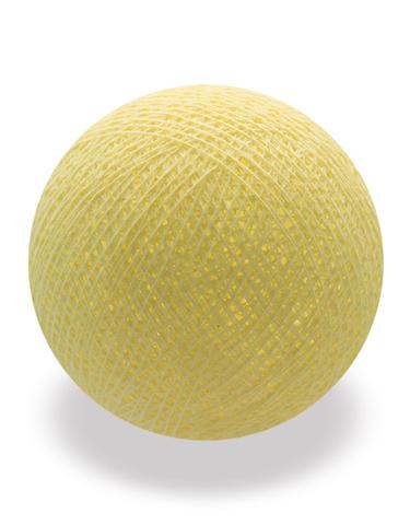 Хлопковый шарик лимонад
