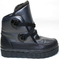 Кожаные ботинки Kluchini 13047