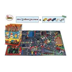 AVC Игровой коврик с дорожными знаками, 122×63 см (01/857)