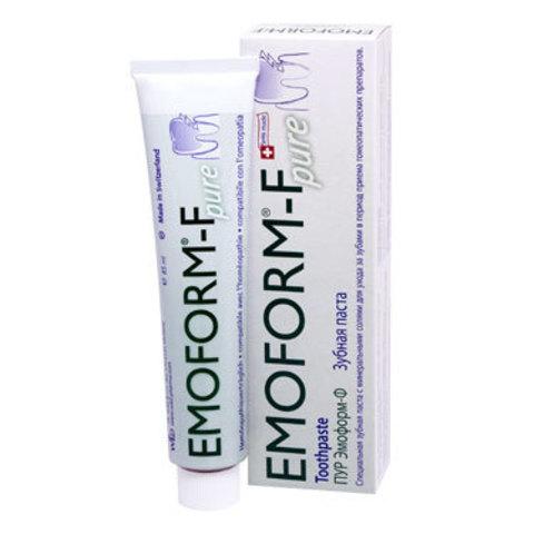 Зубная паста (со фтором) Эмоформ-Ф Пур Emoform-F Pur Dr.Wild, 85 мл