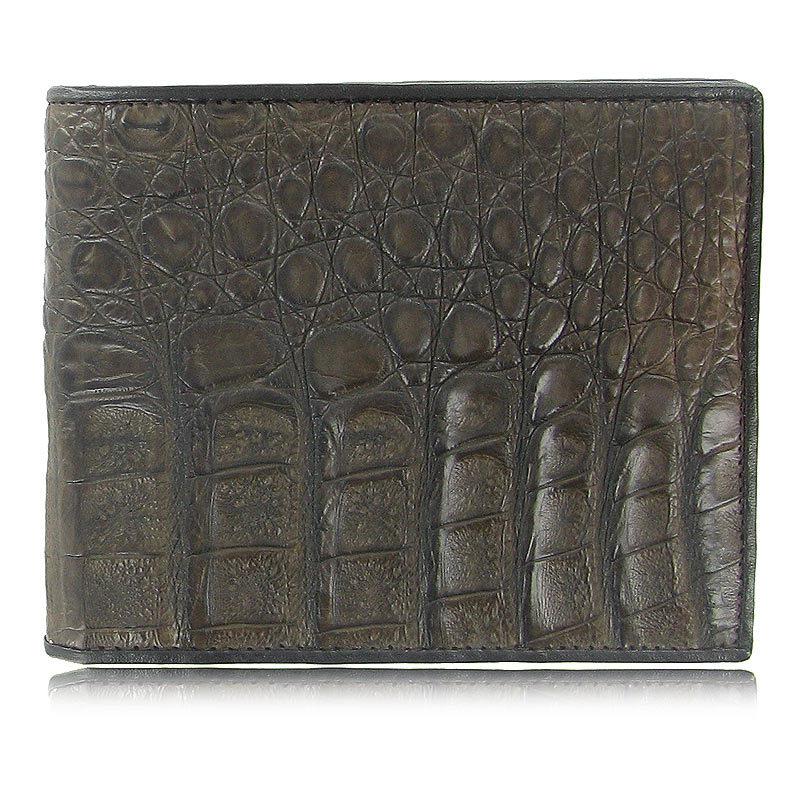 Мужской кошелек из кожи каймана (брюшная часть) WR-104