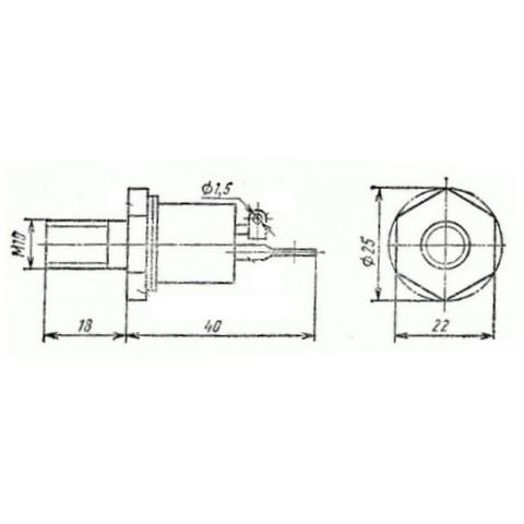 Thyristor (SCR) T142-80