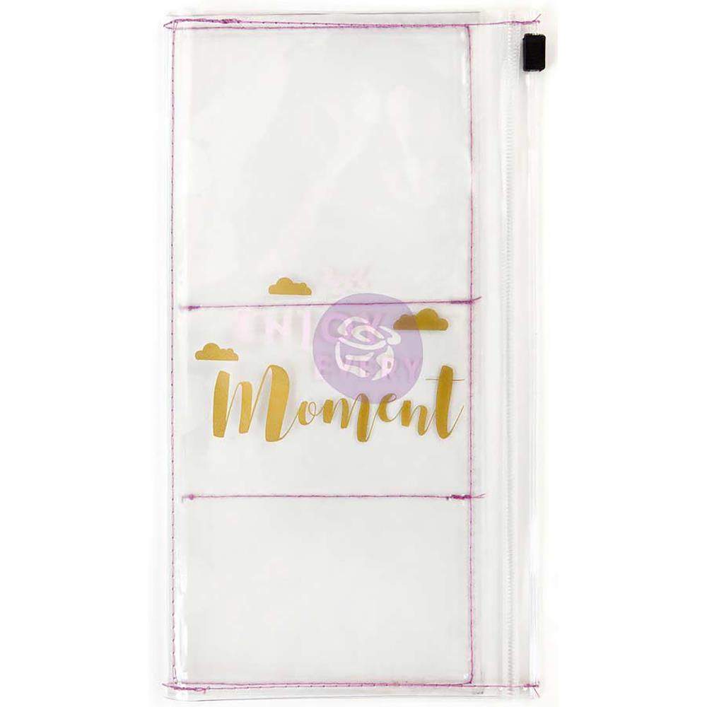 Конверт с кармашками  для  Traveler's Notebook -11,4х21 см