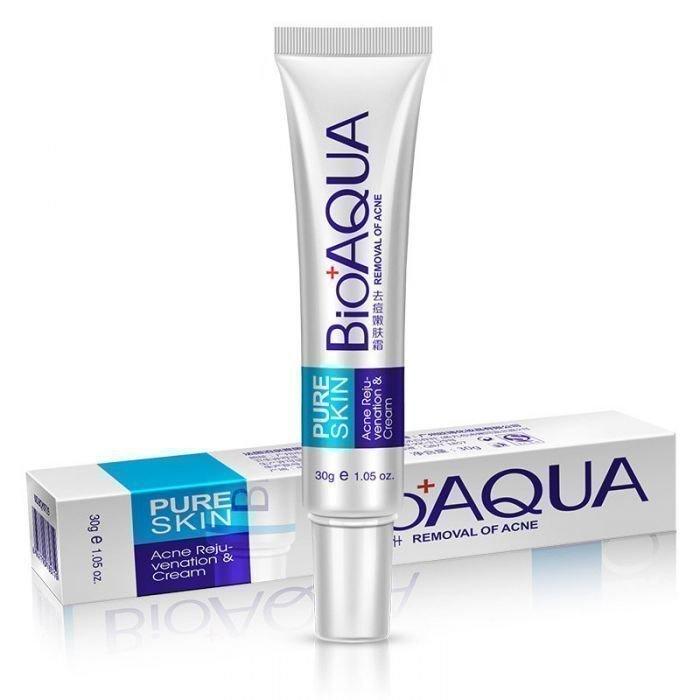 Bioaqua Крем от прыщей Pure Skin Removal of Acne Cream, 30 г