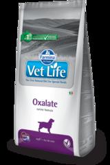 Корм для собак FARMINA Vet Life OXALATE при МКБ оксалаты, ураты и цистины