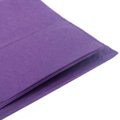 Бумага тишью фиолетовая 76 х 50 см, 10 листов (28 г/м)