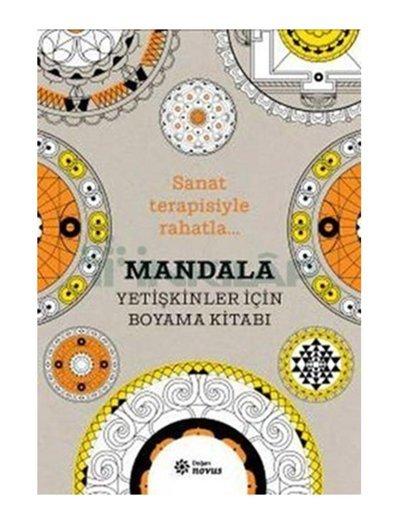 Mandala Yetişkinler Için Boyama Kitabı Sophie Leblanc