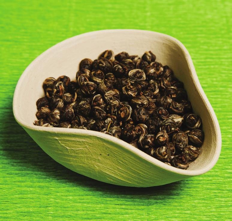 Китайский зеленый чай «Жасминовая жемчужина» от 650 руб