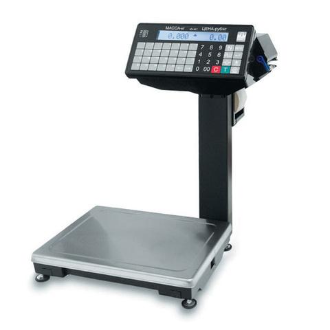 Весы печатающие фасовочные Масса-К ВПМ-Ф с отделительной пластиной 001