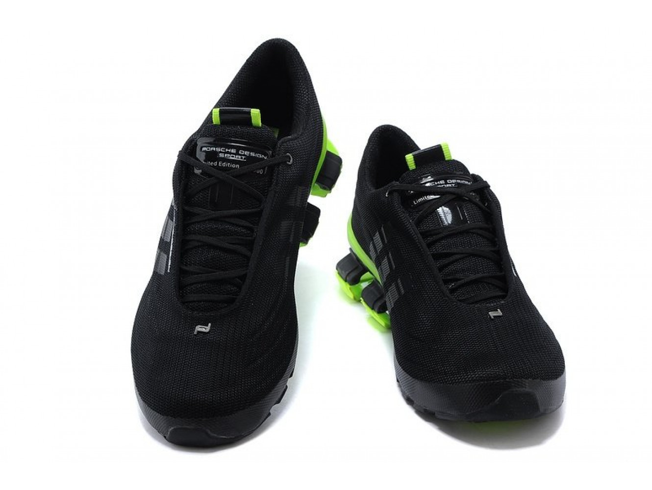 Adidas Porsche Design Bounce S4 (Black/Green) (004)