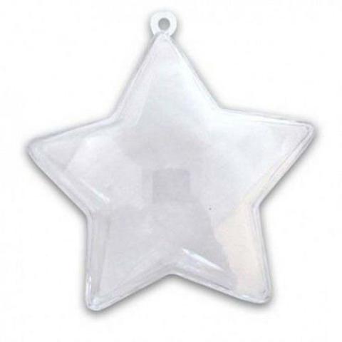 4601 Звезда из пластика, разъемная