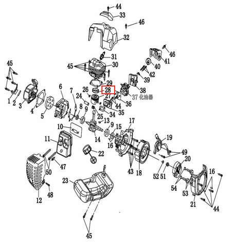 Кольцо поршневое 1шт. для лодочного мотора T2 SEA-PRO