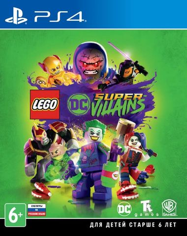 Sony PS4 LEGO DC Super-Villains (русские субтитры)
