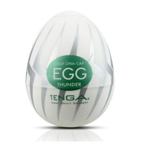 Яйцо мастурбатор для мужчин TENGA EGG Thunder