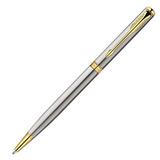 Шариковая ручка Parker Sonnet Slim K427 ESSENTIAL St Steel GT Mblack (S0809150)