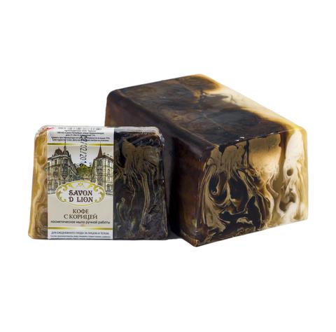Косметическое мыло Кофе с корицей 100 гр. ТМ SAVON D LION