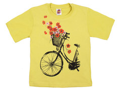 937-1 футболка детская, желтая