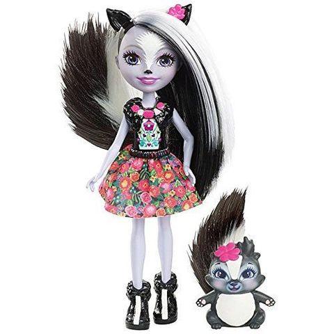 Кукла Энчантималс Седж Скунси и скунс Кейпер (Sage Skunk и Caper) - Enchantimals, Mattel